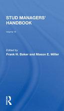 Stud Managers' Handbook Pdf/ePub eBook