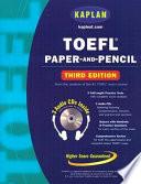 TOEFL Paper and Pencil Book