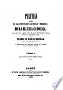 Pláticas acerca de las principales doctrinas y prácticas de la Iglesia católica
