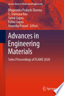 Advances in Engineering Materials Book