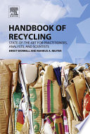 Handbook Of Recycling Book PDF