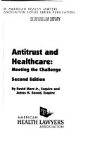 Antitrust and Healthcare