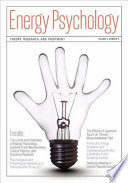 Energy Psychology Journal, 3:2