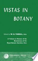 Vistas In Botany