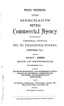 The Merchants  Retail Commercial Agency General Office  No  53 Dearborn Street  Chicago Ill  May 1888 Book of Reference