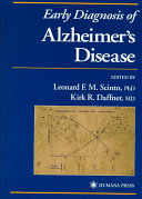 Early Diagnosis of Alzheimer s Disease