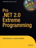 Pro  NET 2 0 Extreme Programming