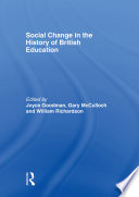 Social Change in the History of British Education
