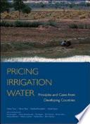 Pricing Irrigation Water Book PDF