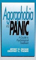 Agoraphobia and Panic Book