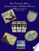 Old Fashioned Hotel Luggage Labels   Travel Posters  A Book of Stencils