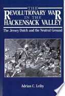 The Revolutionary War in the Hackensack Valley Book