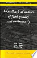 """Handbook of Indices of Food Quality and Authenticity"" by R S Singhal, P K Kulkarni, Pushpa R. Kulkarni, D V Reg"