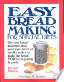 Easy Breadmaking For Special Diets Book PDF