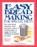 Pdf Easy Breadmaking for Special Diets
