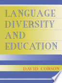 Language Diversity and Education Book