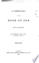 A Commentary On The Book Of Job