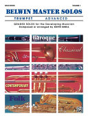 Belwin Master Solos  Volume 1  Trumpet