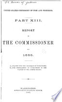 Report of the Commissioner for ...