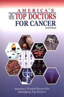 America s Top Doctors for Cancer Book
