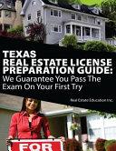 Texas Real Estate License Preparation Guide