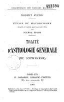 Traité d'astrologie générale (De Astrologia)