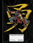 Ninja Kanji Martial Arts Warrior Ninjutsu Composition Notebook