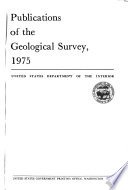 Publications Of The Geological Survey