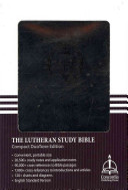 Lutheran Study Bible ESV Compact