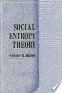 Social Entropy Theory Book PDF