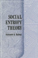 Social Entropy Theory