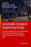 Sustainable Ecological Engineering Design