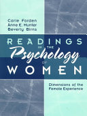 Readings in the Psychology of Women