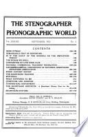 The Stenographer  , Volume 29