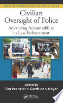 Civilian Oversight of Police Book PDF