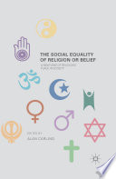 The Social Equality of Religion or Belief