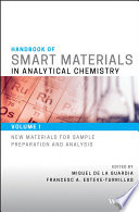 Handbook Of Smart Materials In Analytical Chemistry Book PDF