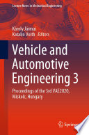 Vehicle and Automotive Engineering 3