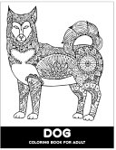 Dog Coloring Book For Adult