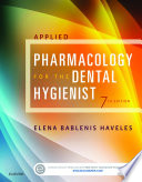 Applied Pharmacology For The Dental Hygienist E Book Book PDF