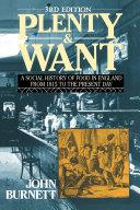 Plenty and Want Pdf/ePub eBook