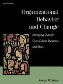 Organizational Behavior and Change