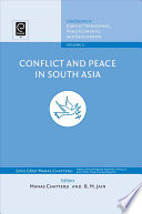 Conflict And Peace In South Asia