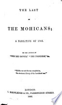 The Last Of The Mohicans Pdf/ePub eBook