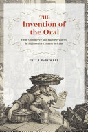 The Invention of the Oral Pdf/ePub eBook