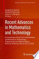 Recent Advances in Mathematics and Technology