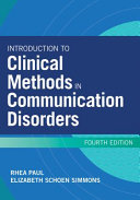 Introduction To Clinical Methods In Communication Disorders Book PDF