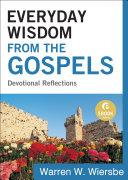 Everyday Wisdom from the Gospels (Ebook Shorts)