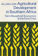 Agricultural Development in Southern Africa
