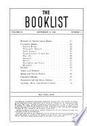 A.L.A. Booklist  , Band 50